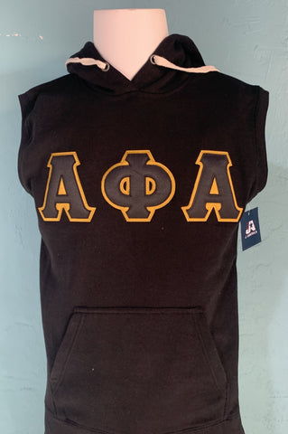 Alpha Phi Alpha Sleeveless Hooded Sweatshirt