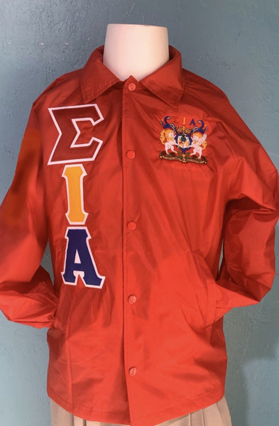 Sigma Iota Alpha Crossing Jacket