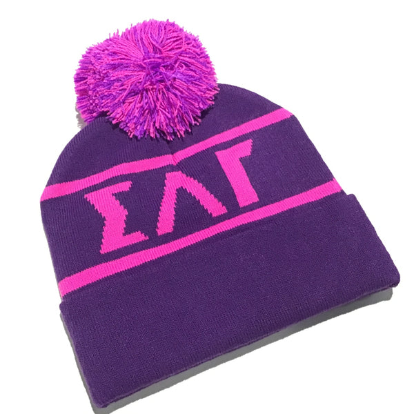 Sigma Lambda Gamma Two-Sided Beanie