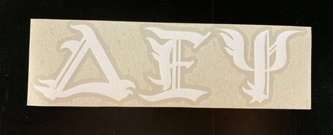 Delta Epsilon Psi Vinyl Decal