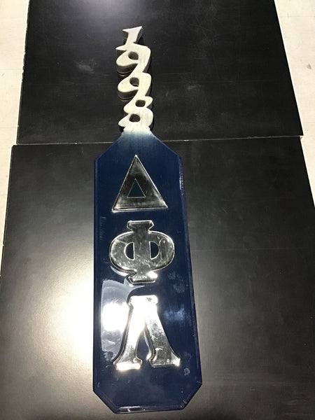 Delta Phi Lambda Coated Paddle