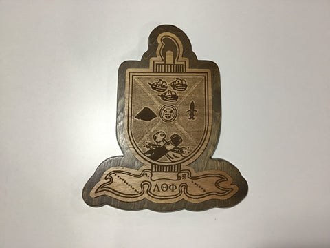 Lambda Theta Phi decorative wood Plaque