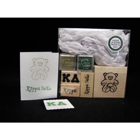 Kappa Delta Rubber Stamp Kit