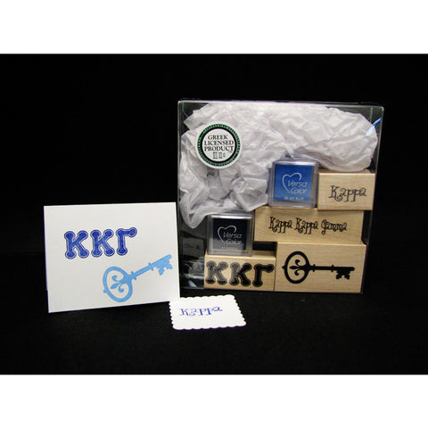 Kappa Kappa Gamma Rubber Stamp Kit