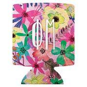 Phi Mu Floral Coozie