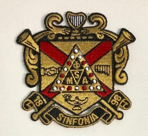 Phi Mu Alpha Shield Patch