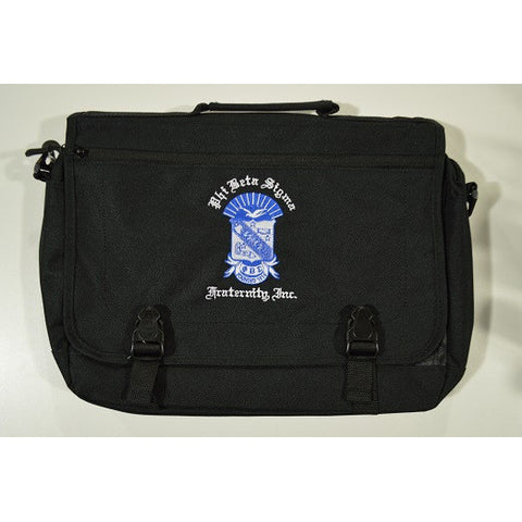 Phi Beta Sigma Messenger Bag
