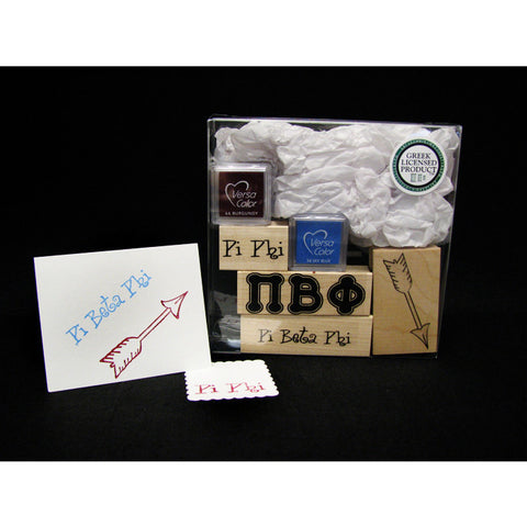 Pi Beta Phi Rubber Stamp Kit