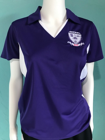 Sigma Lambda Gamma Color Block Ladies Polo