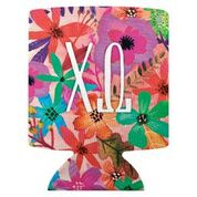 Chi Omega Floral Coozie