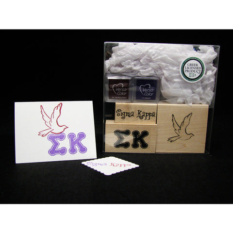 Sigma Kappa Rubber Stamp Kit