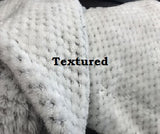 Sorority Plush Textured Blanket With Embroidery