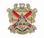 Phi Mu Alpha Shield Pin