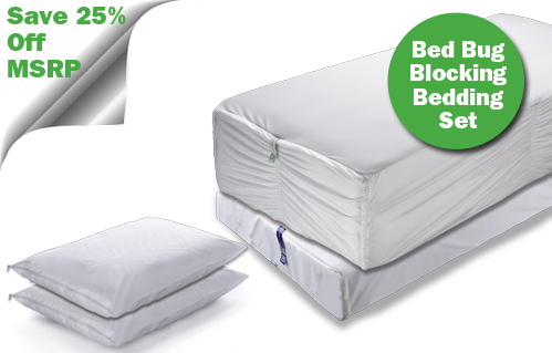 Bed Bug Blocking Encasement Set
