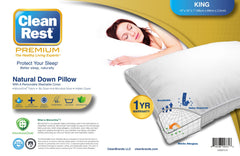 Natural Down Pillow