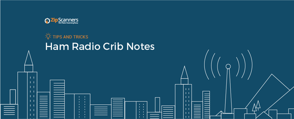 Ham Radio Crib Notes