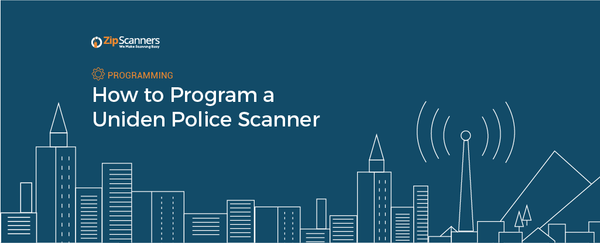 How to Program a Uniden Police Scanner