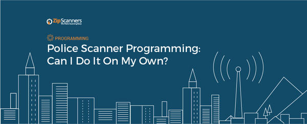 Police Scanner Programming - Can I Do It On My Own?