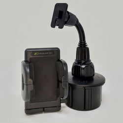 Vehicle Mount for Police Scanner | Cup or Windshield Hands Free Cup Holder Separated