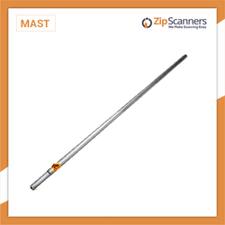 5' Antenna Mast for Police Scanner Antennas Zip Scanners