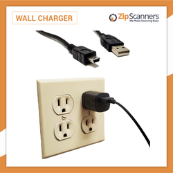 Charging Cable for all Police Scanners Wall Charging Cable Zip Scanners