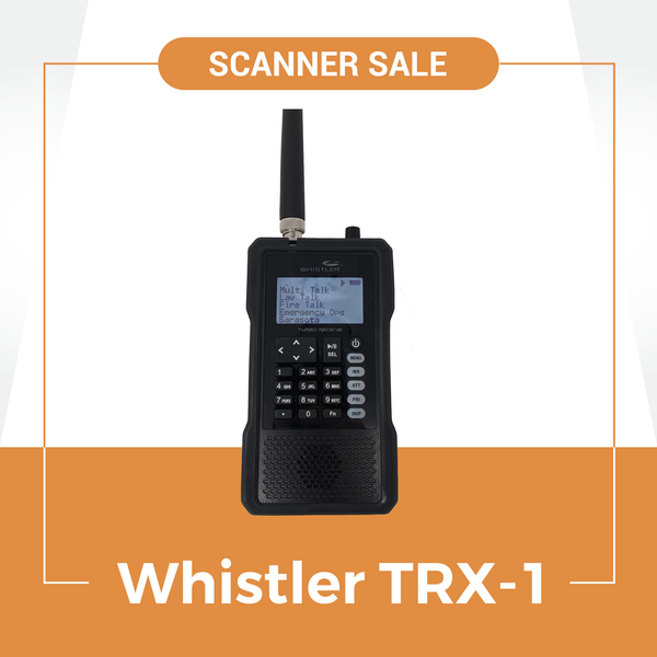 Police Scanner Sale | Whistler's Best Scanner + FREE Programming TRX-1