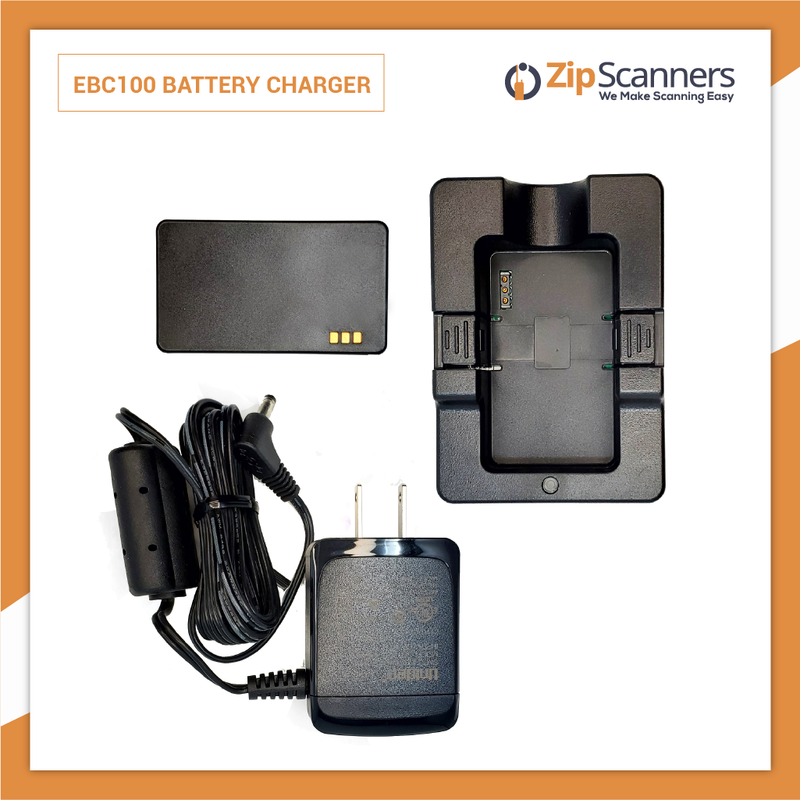EBC100 Battery Charger  Uniden SDS100 Police Scanner Radio Zip Scanners