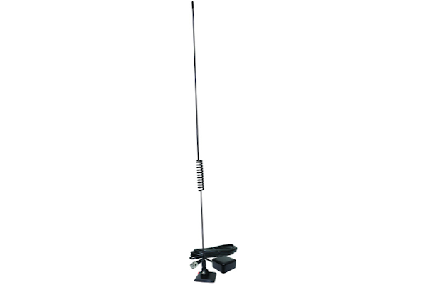 Glass Mount Police Scanner Antenna