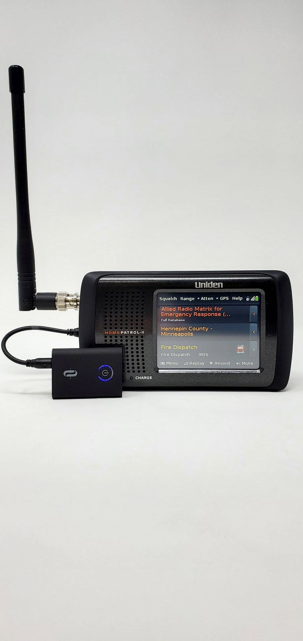 Bluetooth Receiver | Bluetooth Enable Any Police Scanner Radio