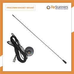 ProComm Vehicle Magnet Mount Antenna for Police Scanners Zip Scanners