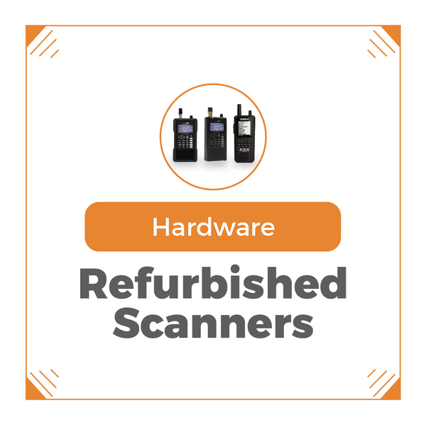 Refurbished Scanners | Buy Used Police Scanners for Discounted Prices