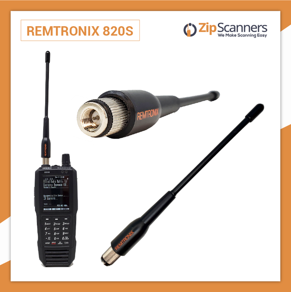 Remtronix Police Scanner Antenna On Set 700-800mHz 820S Zip Scanners