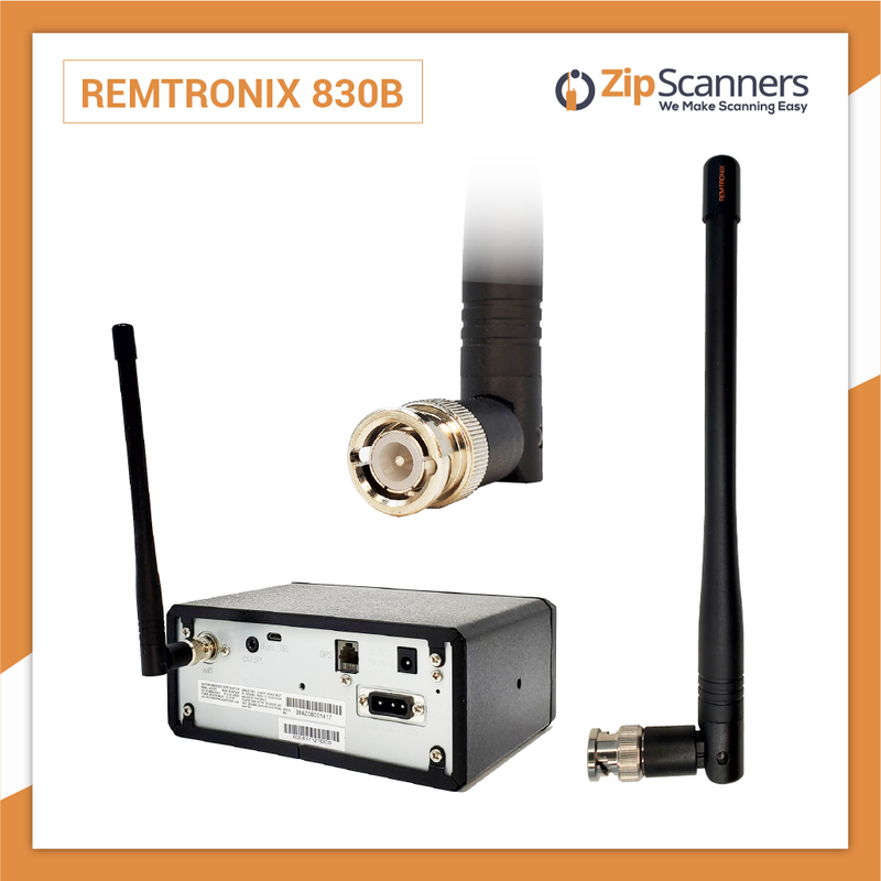 Remtronix Police Scanner Antenna On Set 700-800mHz 830B Zip Scanners