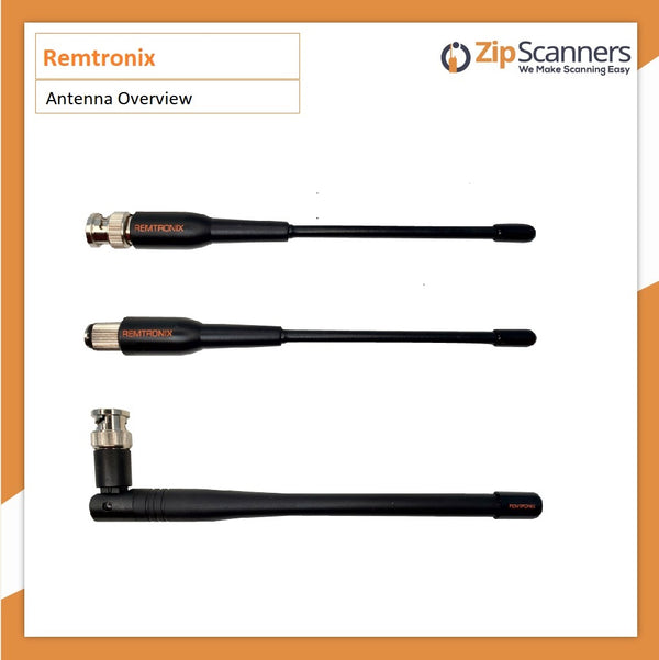 Remtronix Police Scanner Antenna On Set 700-800mHz Zip Scanners