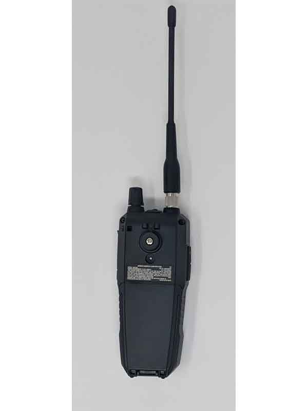 SDS100 Police Scanner | Uniden Digital Handheld Scanner back