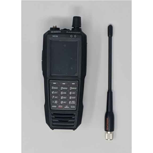 SDS100 Police Scanner Uniden Digital Handheld Scanner back remtronix antenna device with remtronix antenna