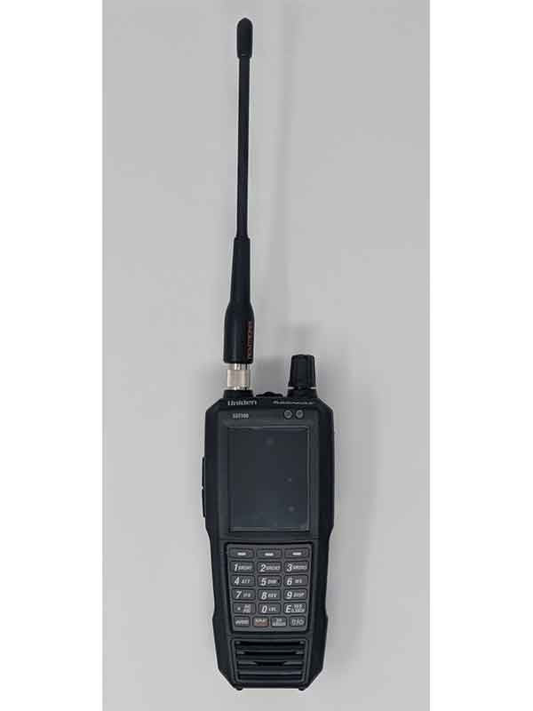 SDS100 Police Scanner Uniden Digital Handheld Scanner front remtronix antenna