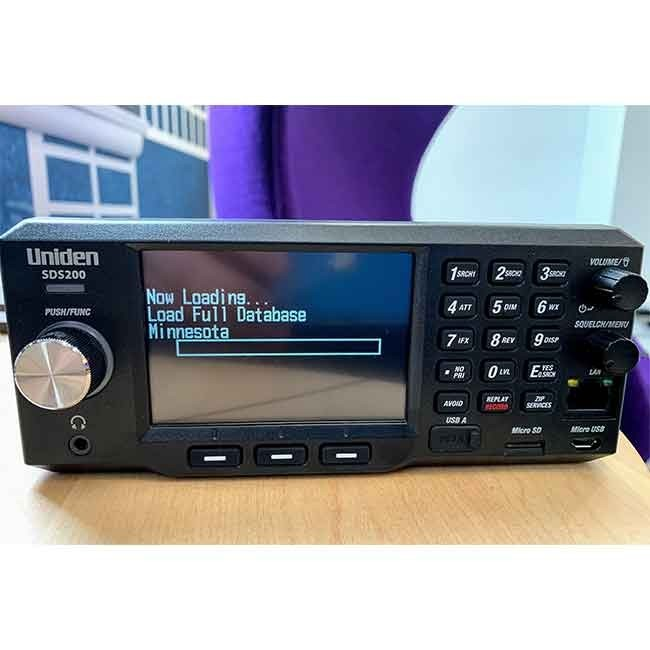 SDS200 Police Scanner Uniden Digital Base/Mobile Scanner front