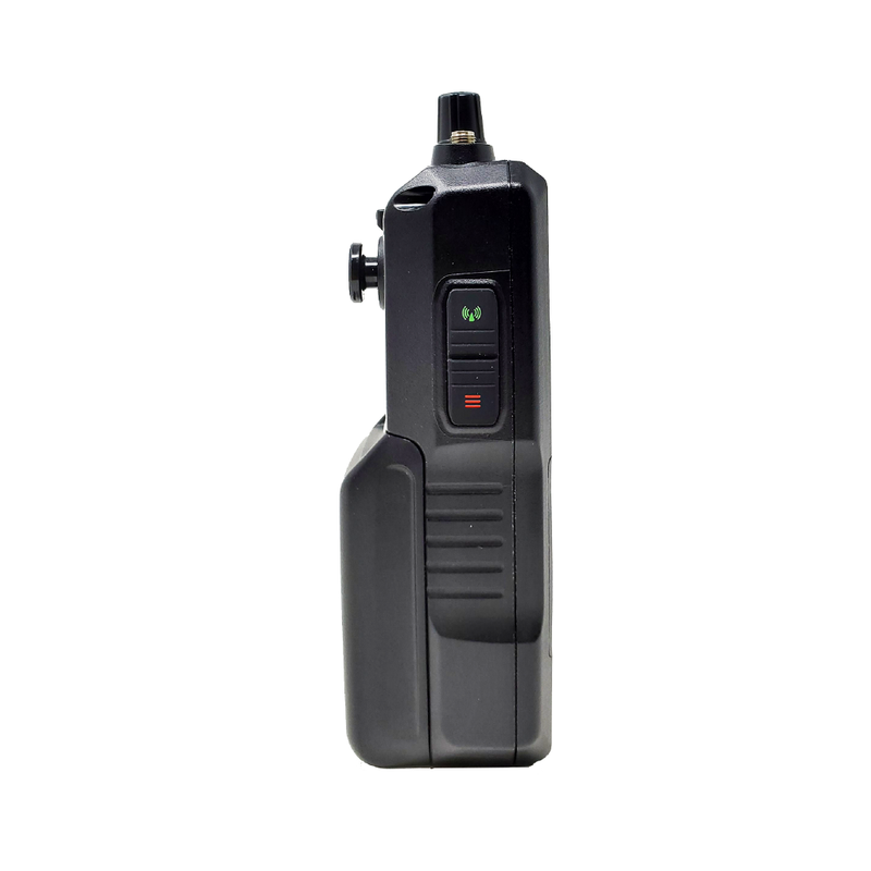 SDS100 Police Scanner | Uniden Digital Handheld Scanner Pure White Left