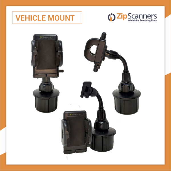 Vehicle Mount for Police Scanner Cup or Windshield Hands Free Zip Scanners