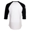 HMG Baseball T-shirt (White/Black)