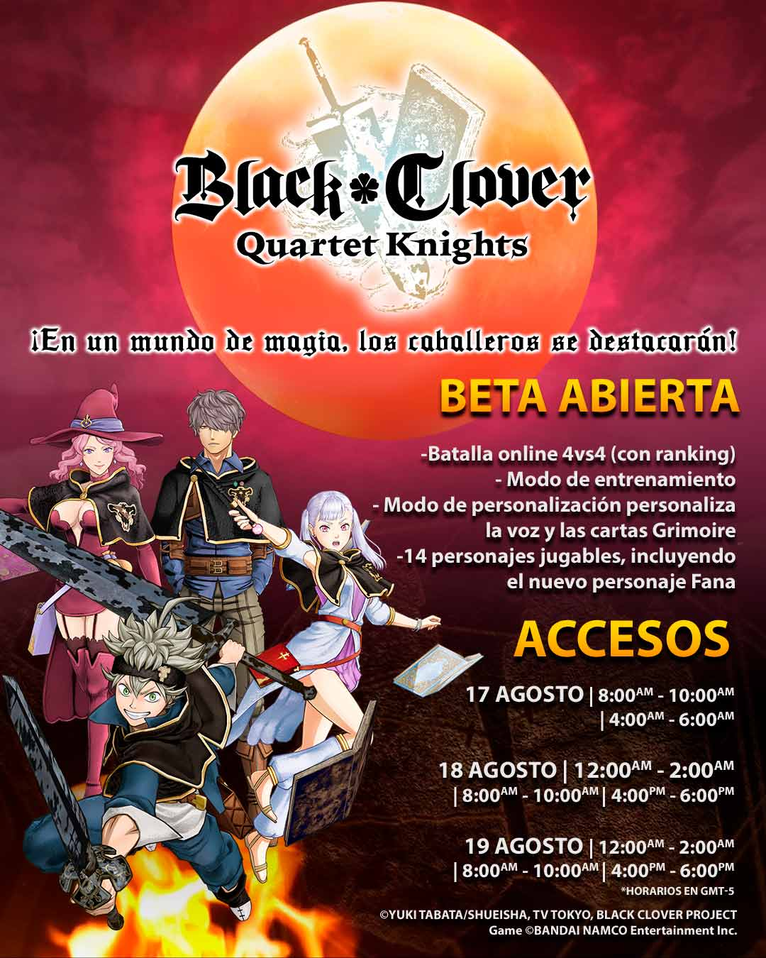 Beta Black Clover