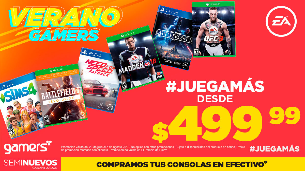 Verano Gamers Electronic Arts