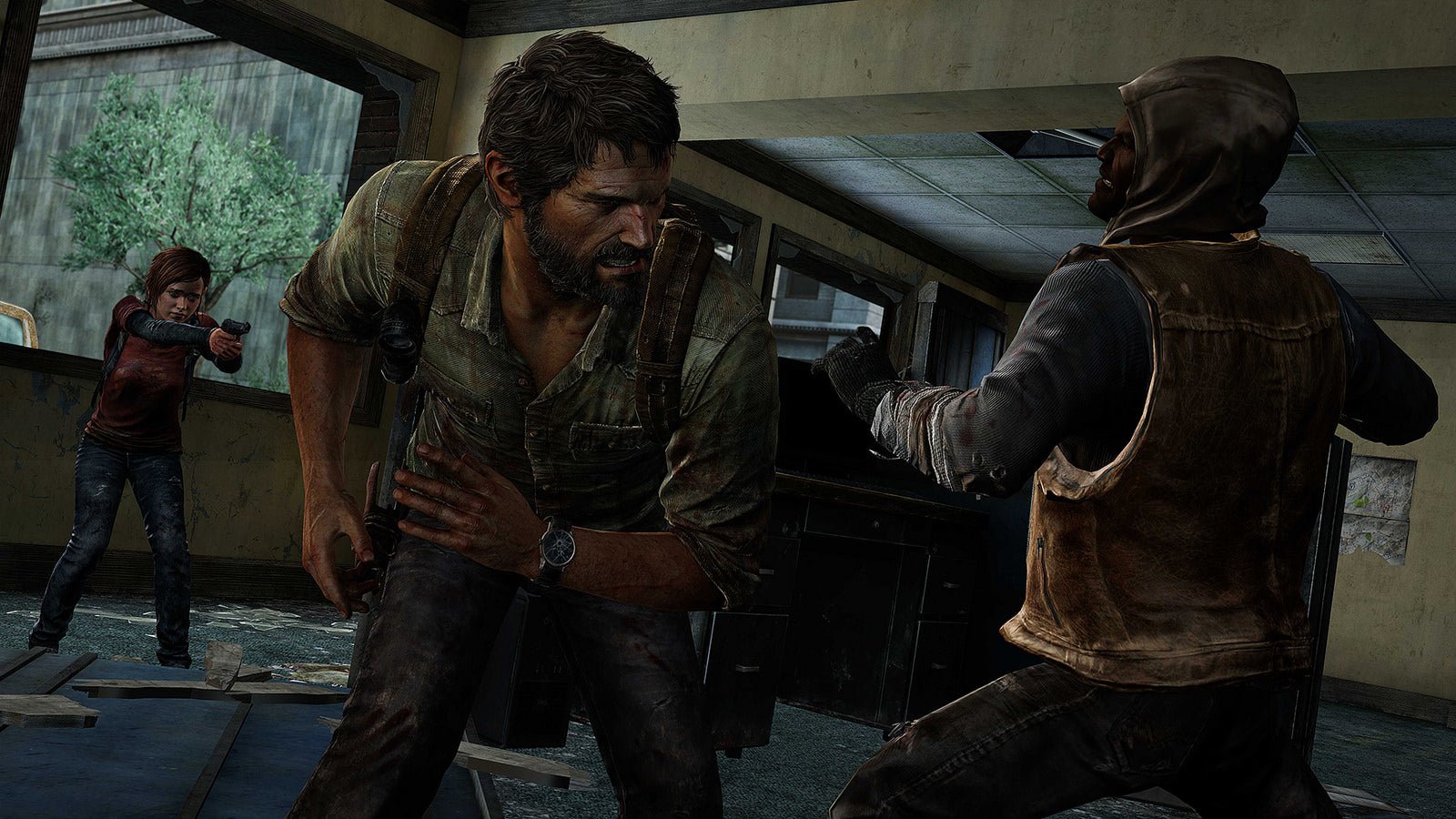 THE LAST OF US REMASTERED SHOOTING