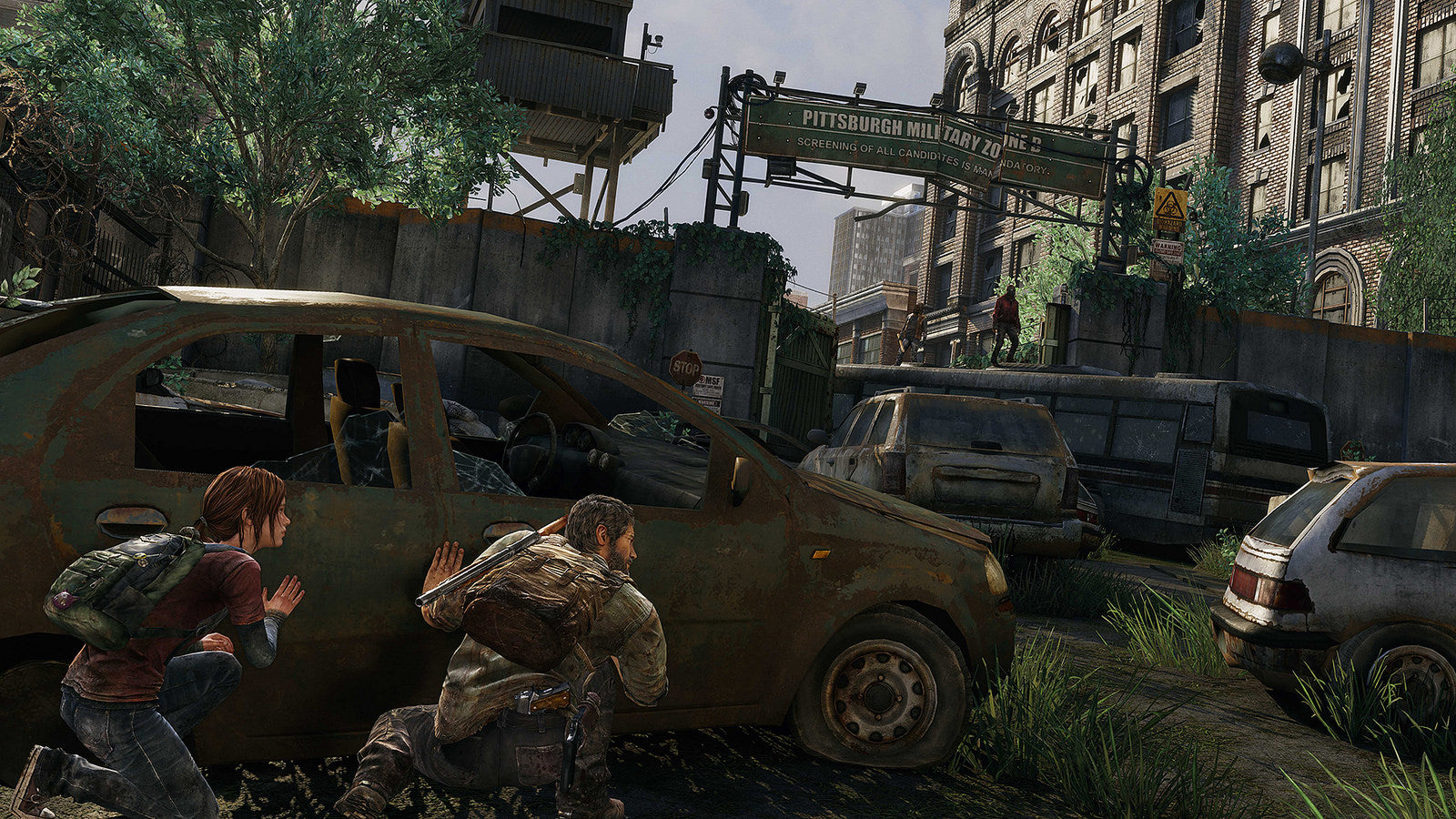 THE LAST OF US REMASTERED HIDING