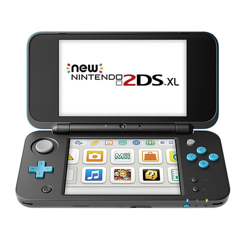2DS XL BLACK+TURQUOISE-2DSXL - Gamers