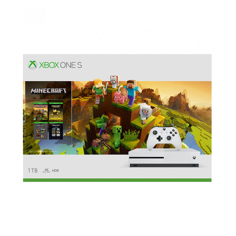 XBOX ONE S 1TB + MINECRAFT - Gamers
