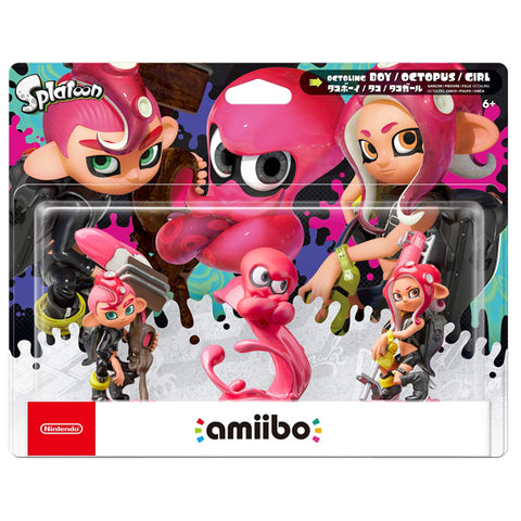 AMIIBO OCTOLING 3 PACK SPLATOON SERIES.-TTL - Gamers