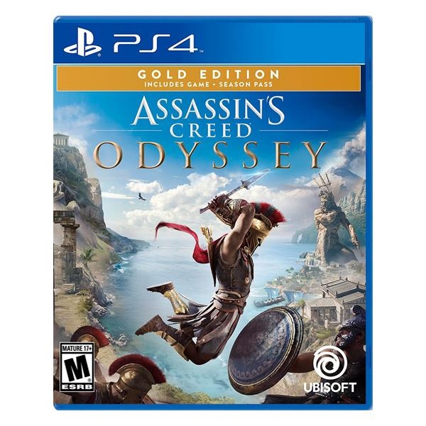 ASSASSINS CREED ODYSSEY GOLD EDITION.-PS4
