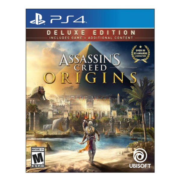 ASSASSINS CREED ORIGINS DELUXE.-PS4